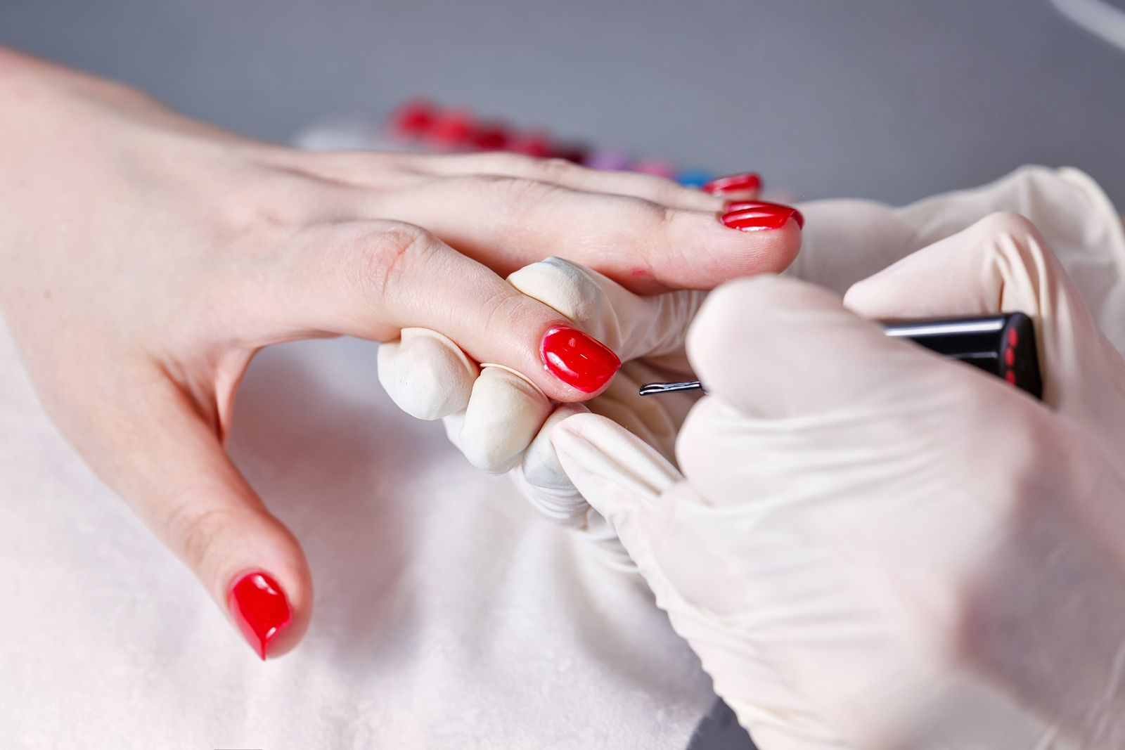 Fancy Types Of Artificial Nails Motif - Nail Art Ideas - morihati.com